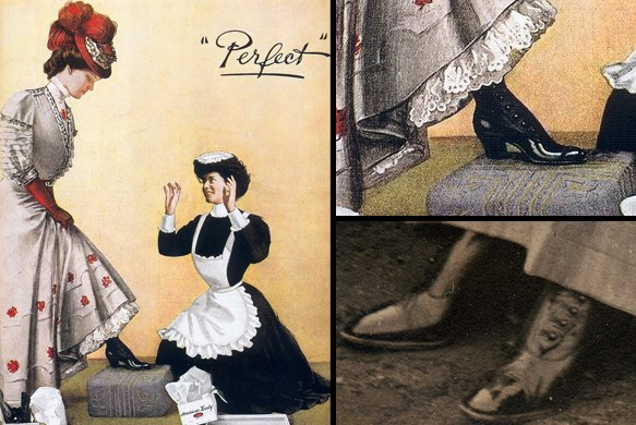 reklama shoes 1906