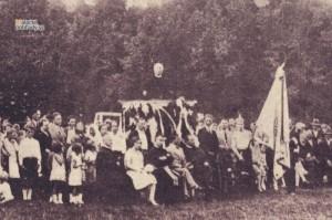 Andrej Hlinka na stretnutí Orla v Malackách