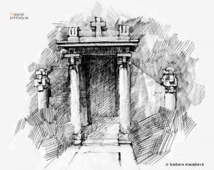 Hrobka rodín Táborský, Szupper, Jávor, Mayer na starom cintoríne v Malackách