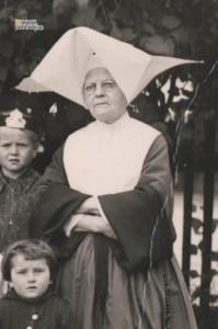 Óvoda (škôlka) v Malom kaštieli v Malackách v roku 1941