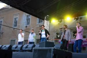 Prvý máj v Malackách, koncert Fragile