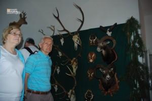 Expozícia o Pálffyovcoch a Malackách, poľovnícka izba
