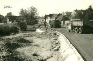 Križovatka a okolie, Malacky, 70. roky 20. storočia