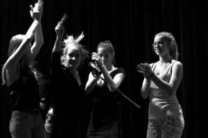 Zo skúšky predstavenia Bársjak. Foto: Štúdio mladých Divadla na hambálku