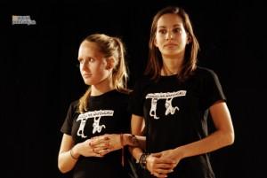 Barbora Bezáková (vpravo)