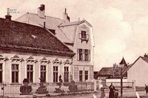 Dom Gustava Karnera, neskôr reštaurácia America, Malacky, pred rokom 1918