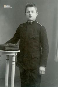 Martin Spusta počas štúdia na vojenskej kadetke.