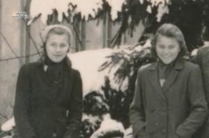 Najstaršie dcéry Martina Spustu Nadežda a Mária.