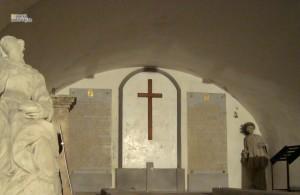 Krypty v Čiernom kláštore v Malackách. Pálffyovská časť.