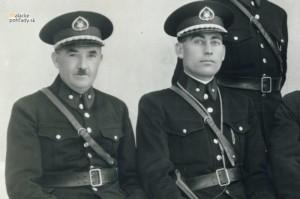 Strážnici, členovia obecnej polície v Malackách v 1. polovici 20. storočia
