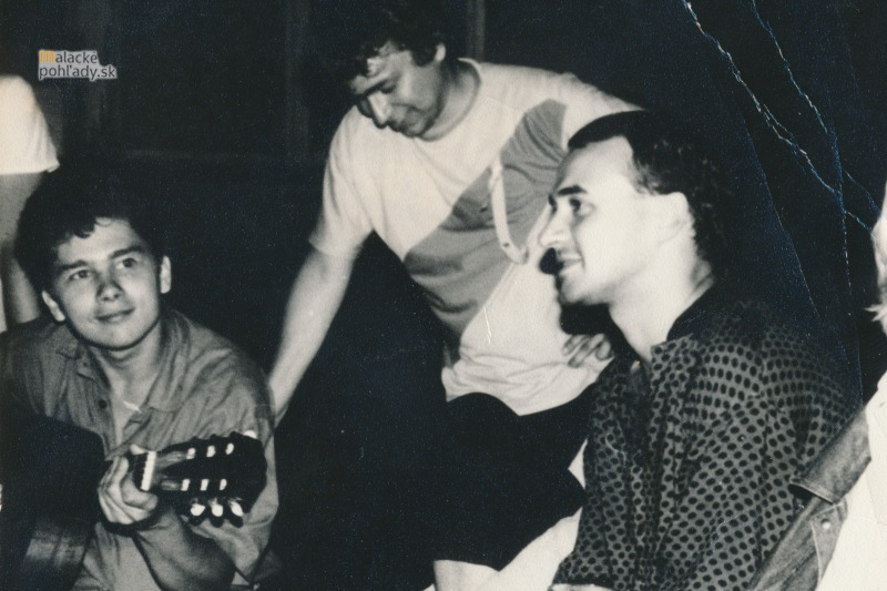 Vlado Zetek s Jarom Strungom a Jonášom Jiráskom.