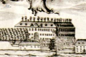 Malacký pálffyovský zámok vpolovici 19. storočia.