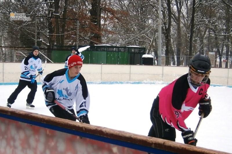 Mini ľadový hokej študentov o pohár CVČ Malacky 2015