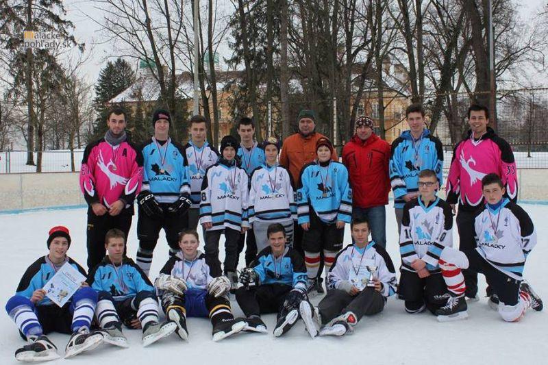 Mini ľadový hokej žiakov o pohár primátora mesta Malacky 2015
