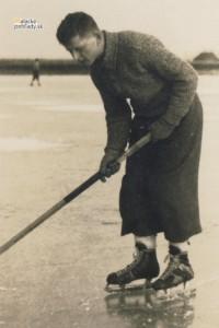 Hokejista Alfréd Bollardt.