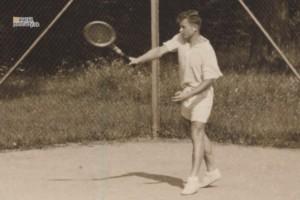 Tenista Alfréd Bollardt
