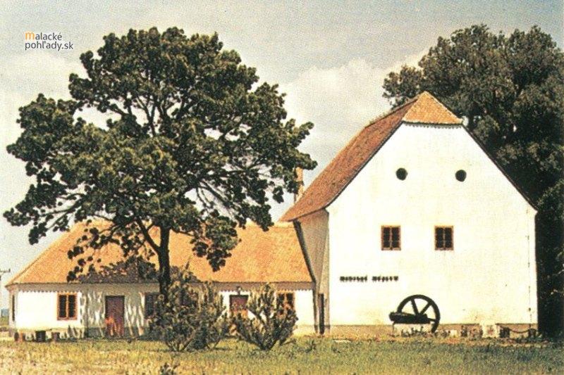 Mestské múzeum v Malackách v pôvodnej budove bývalého mlyna