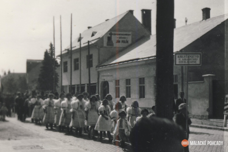 Radlinského ulica v Malackách