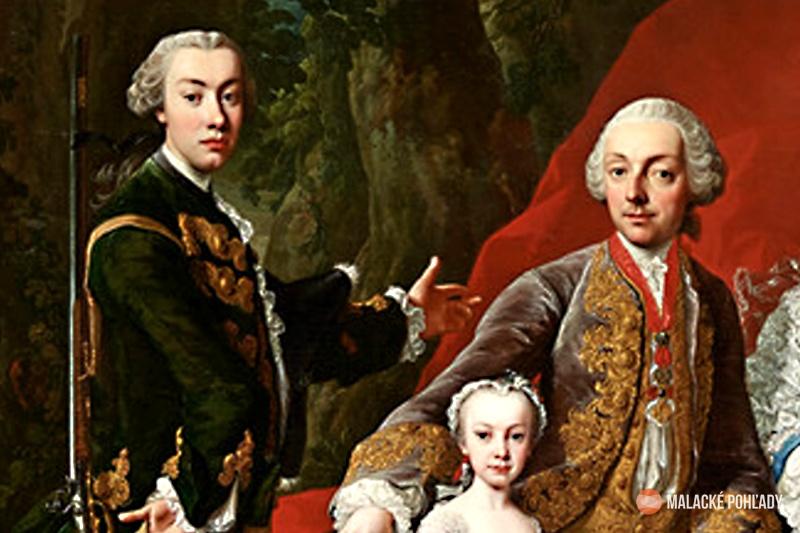 Karol IV. Pálffy s otcom Mikulášom VIII. a jednou so sestier