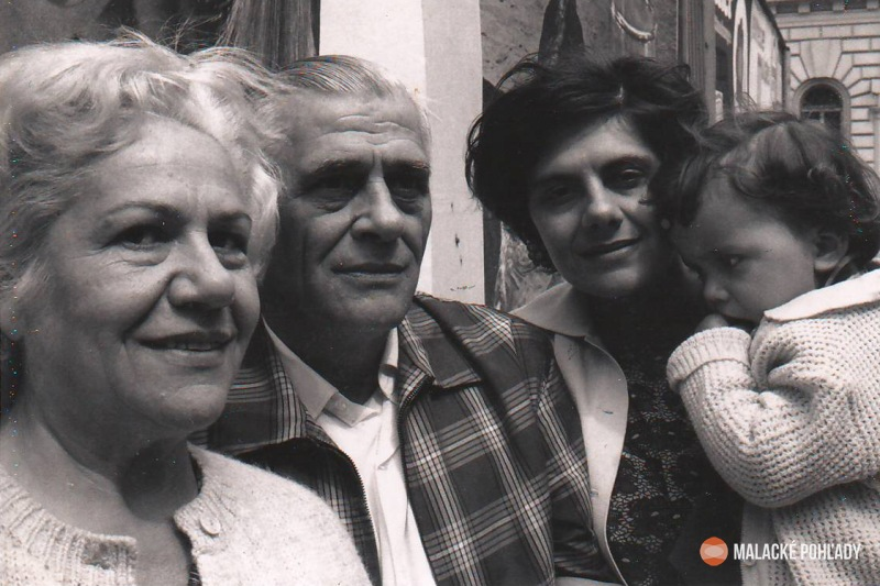 Valéria Reiszová, Rudolf Dilong, Dagmar a Denisa