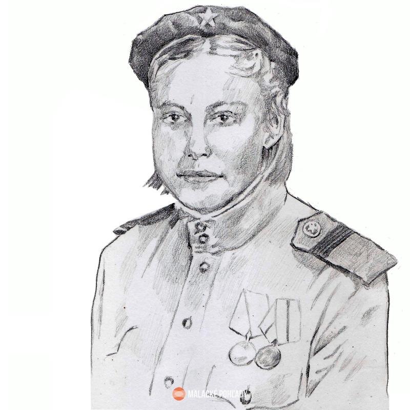 Ruská vojačka v Malackách