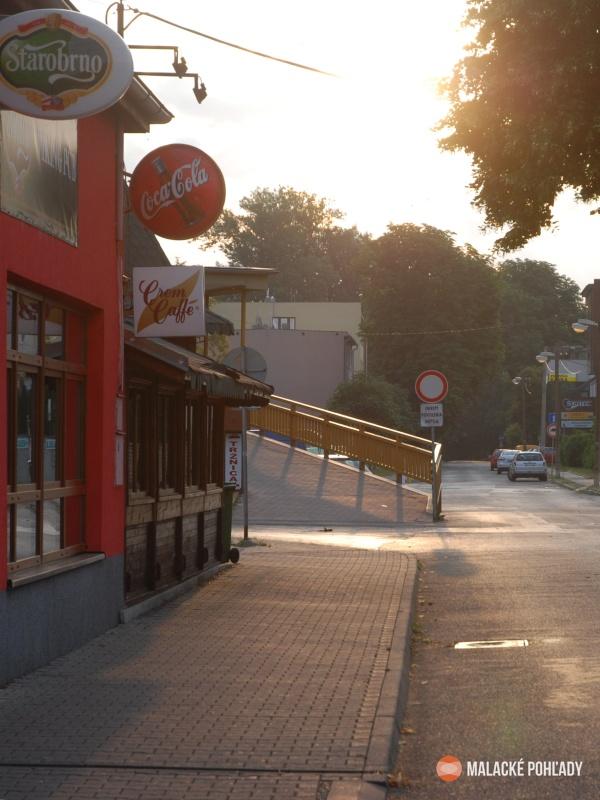 Zámocká ulica Malacky