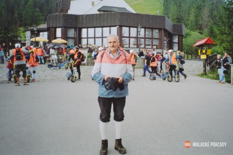 Július Morávek vo Vysokých Tatrách