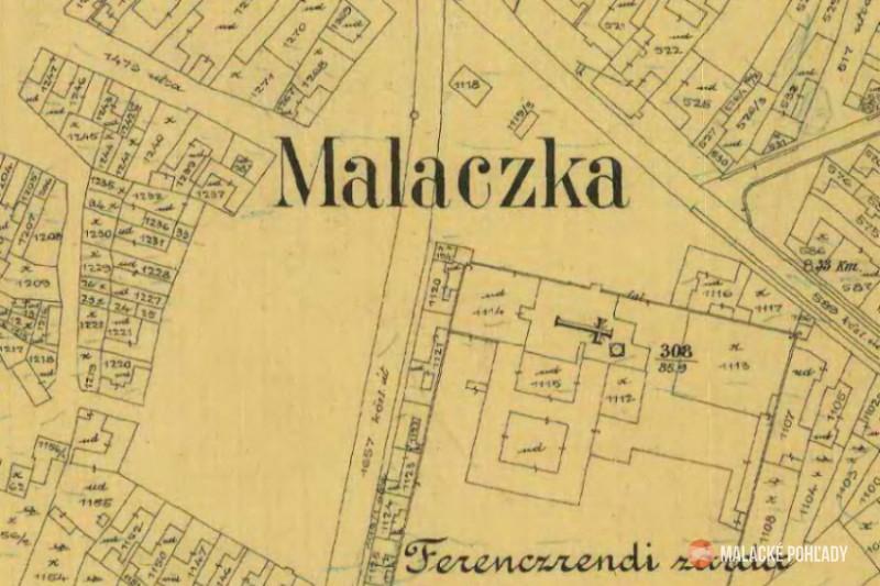 Námestie pri Čiernom kláštore v Malackách