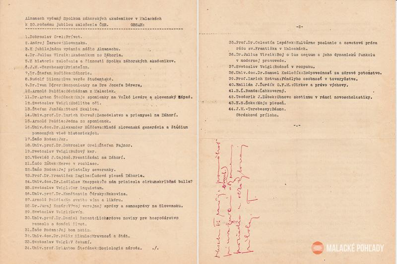 Almanach Spolku záhorských akademikov