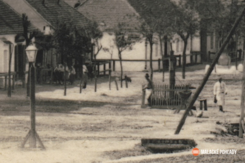 Záhorácka ulica v Malackách