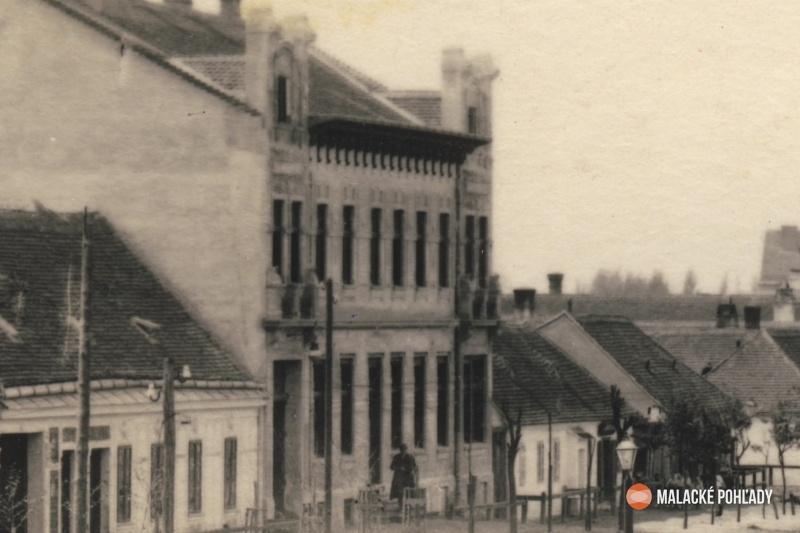 Záhorácka ulica v Malackách, hotel Tatra