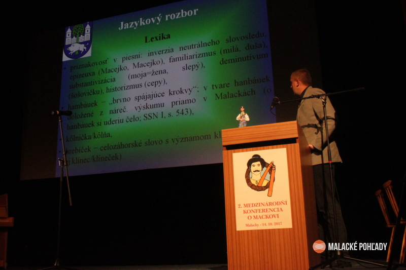 Andrej Závodný, konferencia o Mackovi Malacky