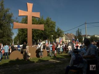 Tak máme dvojkríž aj u nás na južnom Slovensku...