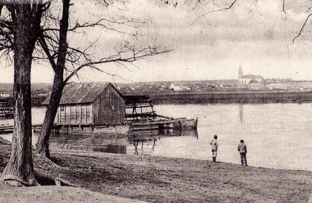 Lodné mlyny na rieke Morave