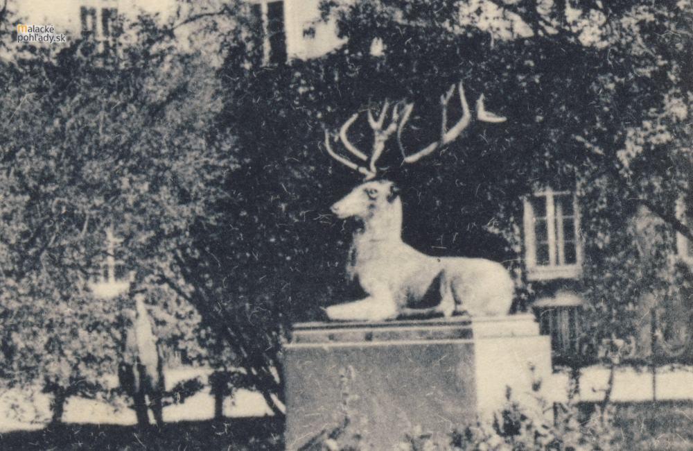 Príbeh pálffyovského jeleňa v zámku