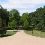 Stroj času - Zámocký park