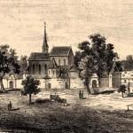 Čierny kláštor - bašty a múr