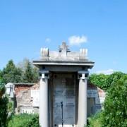 Hrobka súrodencov Mayerovcov na starom cintoríne