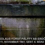 Výročie úmrtia Mikuláša XIII. Pálffyho