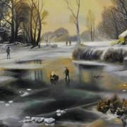 Milan Ondrovič st. vystavuje v galérii MCK