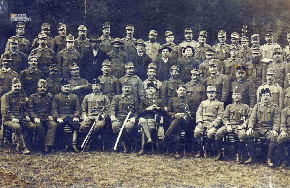 Malacky počas prvej svetovej vojny