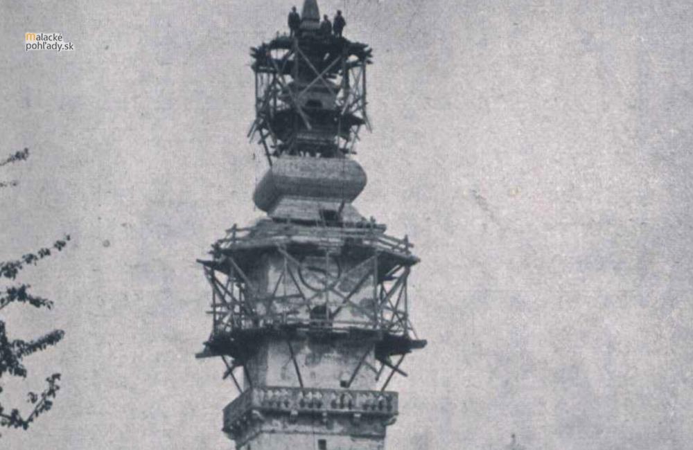 Príbeh obnovy veže kostola Najsvätejšej Trojice v Malackách