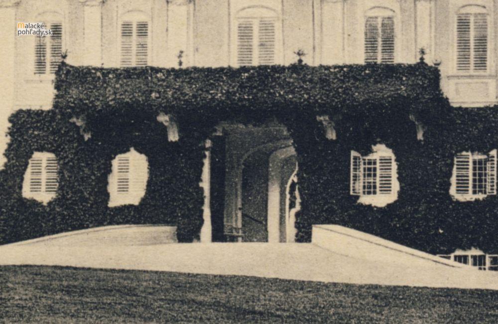 Vertikálna zeleň na pálffyovskom zámku v Malackách
