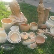 Keramika z hlinenej pece Vlada Burcla