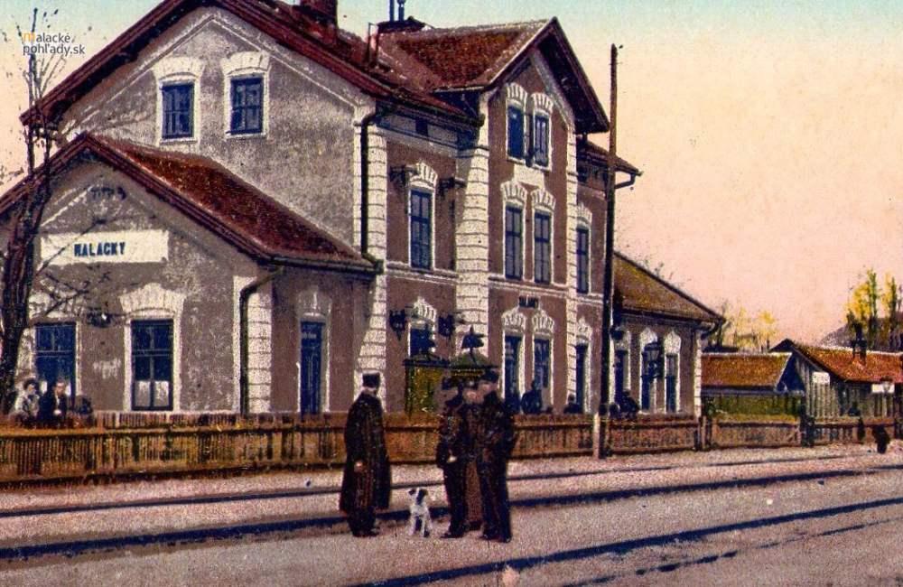 Železnica v Malackách