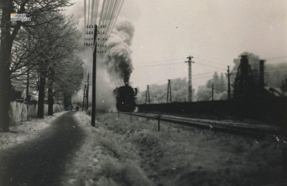 Stroj času - Železnica