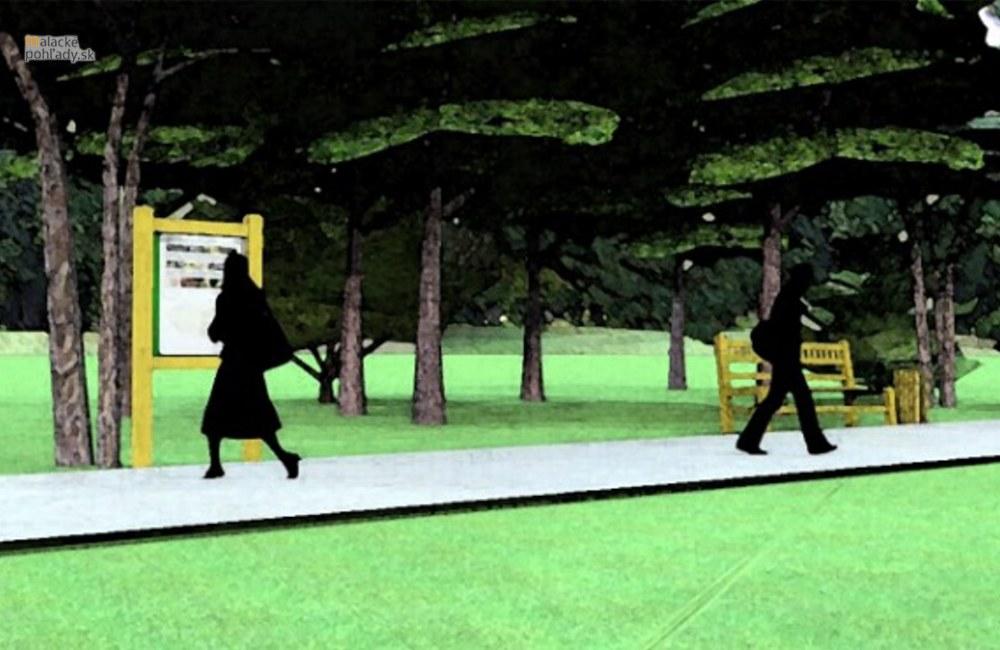 Návrh rekonštrukcie zámockého parku