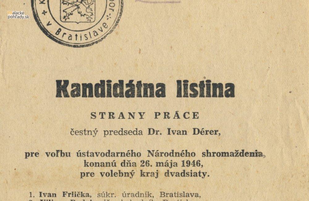 Voľby v roku 1946