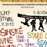 Divadelný festival Zejdeme sa na hambálku 2013