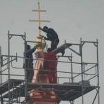 Foto týždňa - Kríž na kostole Najsvätejšej Trojice
